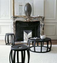Tavolo d'appoggio moderno / in legno massiccio / in legno di rosa / in palissandro