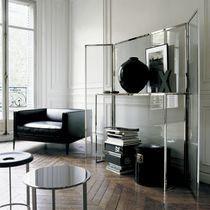 Consolle moderna / in vetro / rotonda / di Antonio Citterio