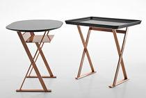 Tavolo d'appoggio moderno / in rame / rettangolare / di Antonio Citterio