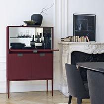 Mobile bar moderno / in legno / di Antonio Citterio