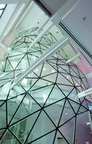 Copertura vetrata in acciaio
