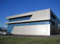 Pannello di rivestimento / in metallo / per facciata