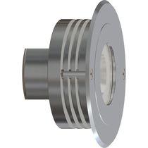 Applique moderna / da esterno / in alluminio anodizzato / LED