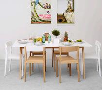 Tavolo da pranzo / moderno / in laminato / in quercia