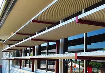 Frangisole in alluminio / per facciata / accessibile