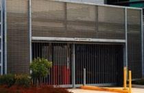 Griglia di ventilazione in alluminio / lineare / per facciate