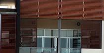 Vetrata scorrevole / in alluminio / a doppi vetri