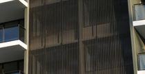 Frangisole in alluminio / in maglia metallica / per facciata