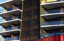 Rivestimento di facciata in alluminio / testurizzato / in pannello