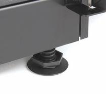 Blocco cucina elettrico / per uso professionale / in ceramica / con cappa integrata