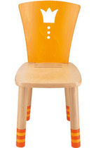 Sedia moderna / per bambini / legno / in legno