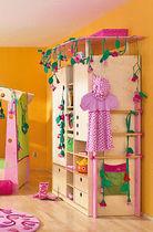 Armadio moderno / in legno / con ante battenti / per bambini