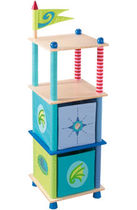 Scaffale moderno / in betulla / per bambini / per bimbo