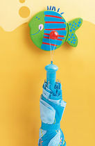 Appendiabiti a muro / moderno / in metallo / per bambini