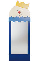 Specchio a muro / per bambini / design originale / rettangolare