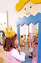 Specchio a muro / per bambini / design originale