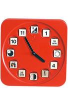 Orologio moderno / analogico / per bambini / a muro