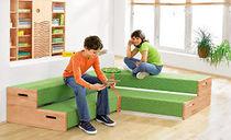 Panca moderna / in legno / per bambini