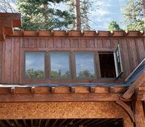 Finestra a battente / in legno / a doppi vetri / Energy Star
