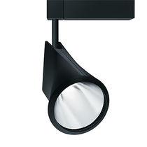 Faretti a binario LED / rotonda / in ghisa di alluminio / per negozio