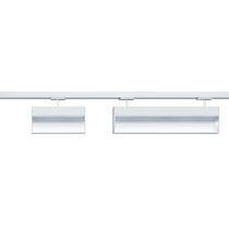 Faretti a binario LED / lineare / in ghisa di alluminio / professionale