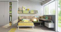 Cameretta per bambini uso misto / grigia / verde / in quercia