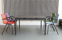 Tavolo moderno / in laminato / in alluminio / rettangolare