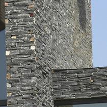 Paramento in ardesia / per facciata / testurizzato / decorativo
