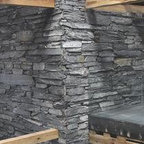 Paramento in ardesia / per esterni / indoor / testurizzato