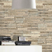 Lastra di paramento in pietra / indoor / testurizzata / decorativa