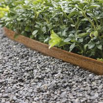 Bordura da giardino / in acciaio COR-TEN® / in acciaio galvanizzato / lineare