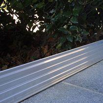 Bordura da giardino / in alluminio / lineare