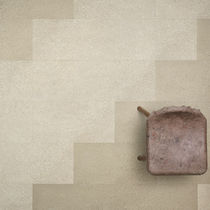 Pavimento in linoleum / residenziale / a quadrotte / finitura opaca
