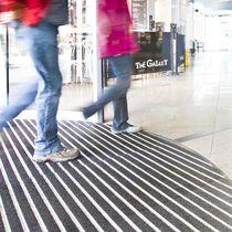 Tappeto d'ingresso per edifici pubblici / in alluminio / in poliammide / antisporco