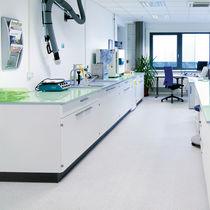Pavimento in vinile / professionale / per struttura sanitaria / a quadrotte