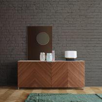 Credenza moderna / in legno laccato / in quercia / di Christian Werner