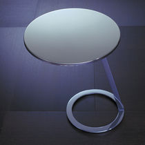 Tavolo d'appoggio moderno / in alluminio laccato / in acciaio laccato / in acciaio inossidabile