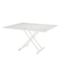 Tavolo moderno / in metallo laccato / rettangolare / pieghevole