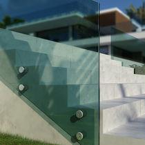 Sistema di fissaggio in alluminio anodizzato / per pannelli