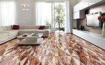 Piastrella da interno / da pavimento / in marmo / a motivi geometrici