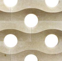 Parete divisoria fissa / in marmo / da ufficio / per uso residenziale