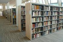 Scaffale moderno / in metallo / per biblioteca / professionale