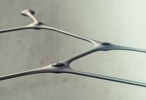 Lampada a sospensione / moderna / in metallo / in fibra di carbonio