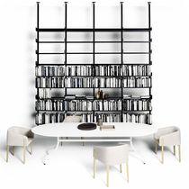 Tavolo da pranzo moderno / in legno massiccio / rettangolare / quadrato