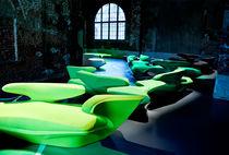 Divano design originale / in tessuto / professionale / di Zaha Hadid