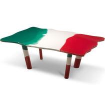 Tavolo moderno / in resina / rettangolare / da interno