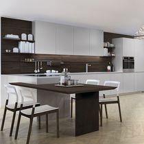 Cucina moderna / in vetro / in acciaio inox / in alluminio
