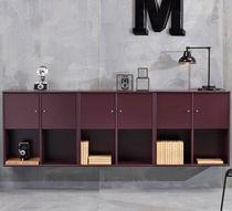 Credenza a muro / moderna / in legno laccato