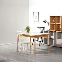 Tavolo da pranzo moderno / in melamminico / rettangolare / allungabile