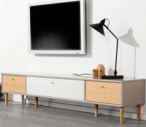 Mobile porta TV moderno / in legno laccato